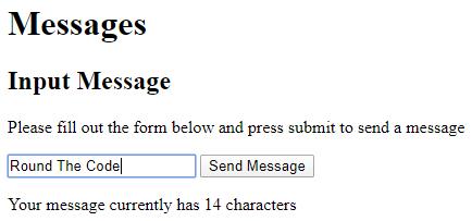 Input into a Blazor Textbox