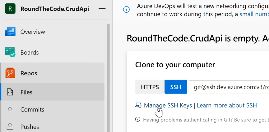 Manage SSH Keys For Your Azure Organisation