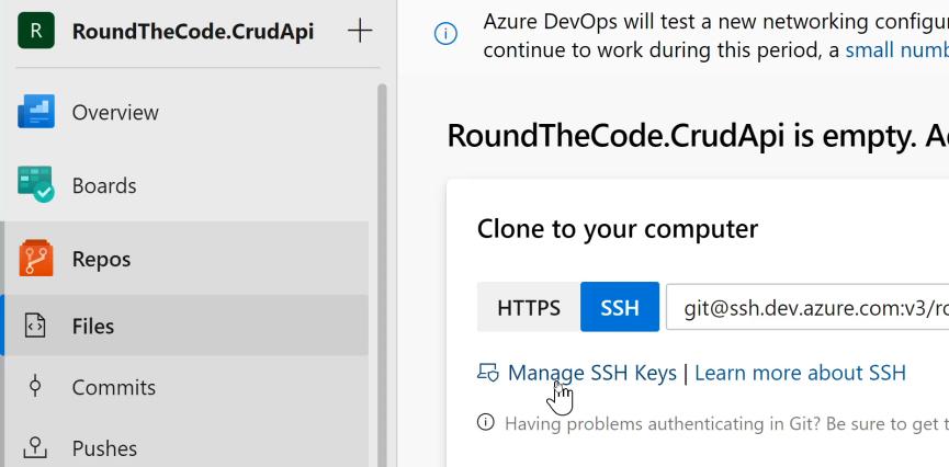 Manage SSH Keys For Your Azure Organisation