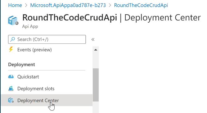 Setup Continuous Integration in Azure