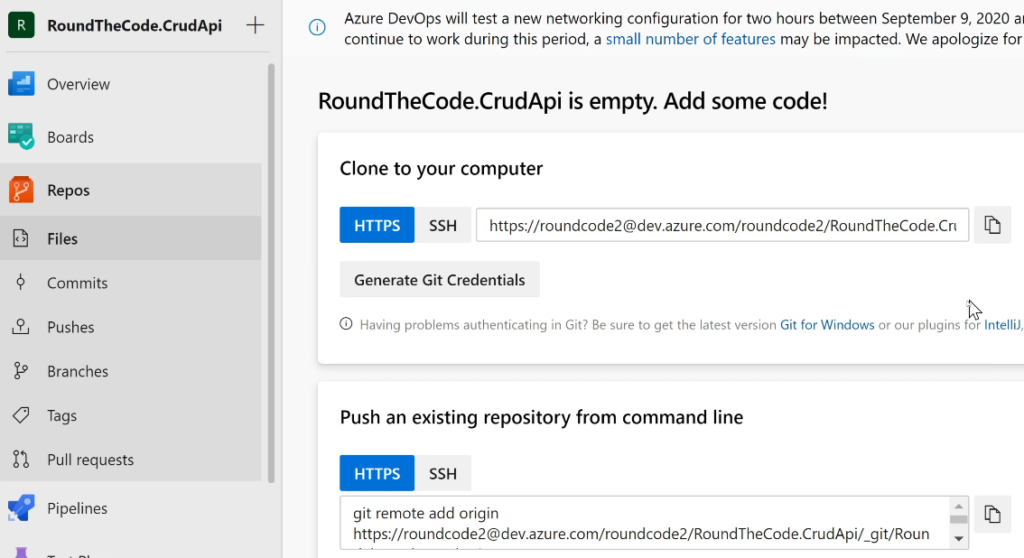 The Repos Section Inside a Azure Devops Project.png