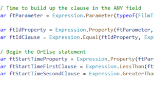 Dynamic Queries using LINQ Expressions